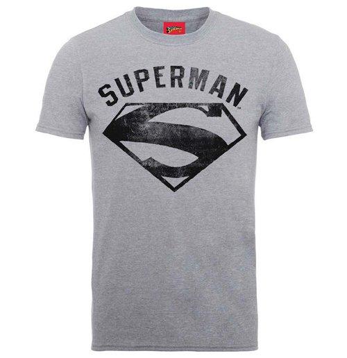 a819a9fb8e Camiseta Superhéroes DC Comics de hombre - Design: Superman Logo Spray
