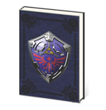 Legend of Zelda Libreta A5 Metal Shield