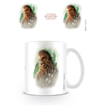 Star Wars Episode VIII Taza Chewbacca Brushstroke