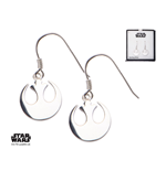 Star Wars Pendientes Rebel Alliance Symbol (Plata de ley)