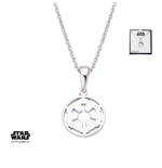 Star Wars Collar Galactic Empire Symbol 46 cm (Plata)