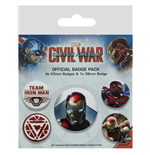 Chapita Captain America: Civil War 280773