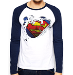 Camiseta manga larga Superman 280783