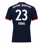Camiseta 2017/18 Bayern de Munich Away (Vidal 23)
