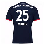 Camiseta 2017/18 Bayern de Munich Away (Muller 25)