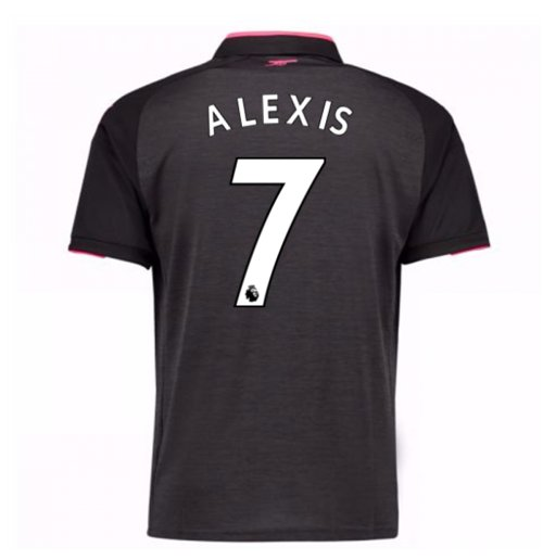 Camiseta 2017/18 Arsenal Third (Alexis 7) de niño