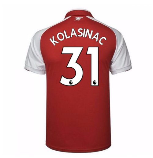 Camiseta 2017/18 Arsenal Home de niño (Kolasinac 31)