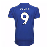 Camiseta 2017/18 Leicester City F.C. Home (Vardy 9)