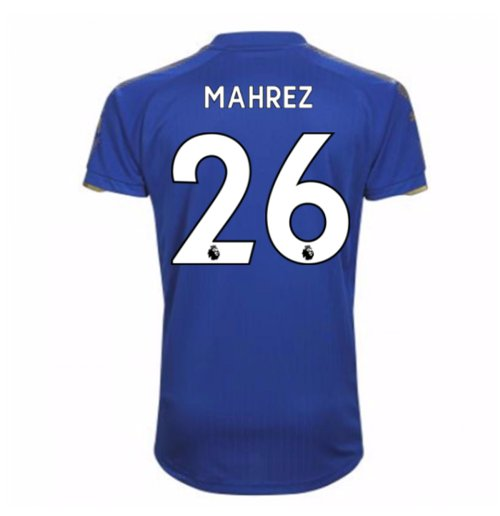 Camiseta 2017/18 Leicester City F.C. Home (Mahrez 26)