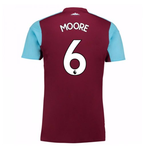 Camiseta 2017/18 West Ham United 2017-2018 Home (Moore 6) de niño