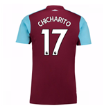 Camiseta 2017/18 West Ham United 2017-2018 Home (Chicharito 17) de niño