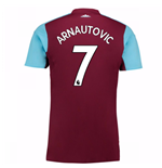 Camiseta 2017/18 West Ham United 2017-2018 Home (Arnautovic 7) de niño