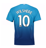 Camiseta 2017/18 Arsenal 2017-2018 Away (Wilshere 10)