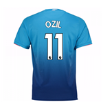 Camiseta 2017/18 Arsenal 2017-2018 Away (Ozil 11) de niño