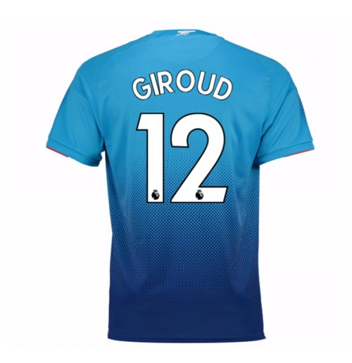 Camiseta 2017/18 Arsenal 2017-2018 Away (Giroud 12) de niño