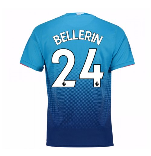 Camiseta 2017/18 Arsenal 2017-2018 Away (Bellerin 24)  de niño