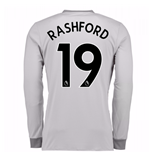 Camiseta Manga Larga Manchester United FC 2017-2018 Third (Rashford 19)