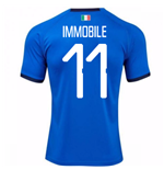 Camiseta Italia Fútbol 2018-2019 Home (Immobile 11)