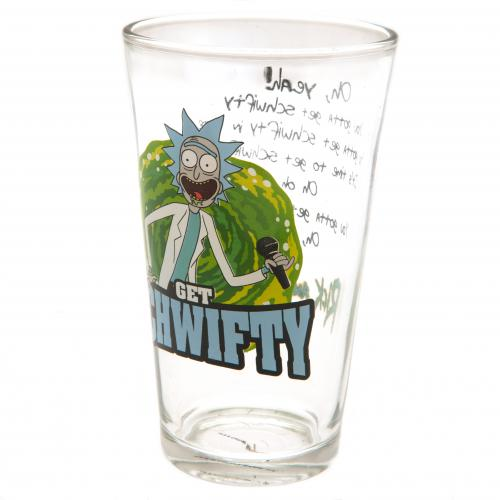 Vaso Rick and Morty  Large Glass Schwifty