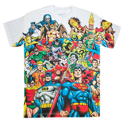 Camiseta Superhéroes DC Comics