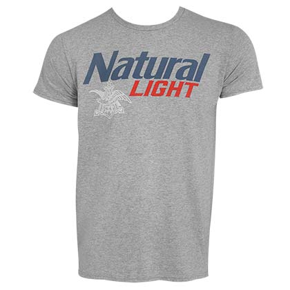 Camiseta Natural Light de hombre