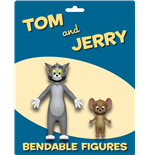 Tom & Jerry Pack de 2 Figuras Maleables Tom & Jerry 6 - 15 cm