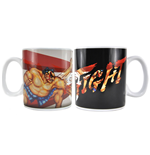 Street Fighter Taza sensitiva al calor Honda