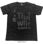 Camiseta The Who Max R&B (Vintage Finish)