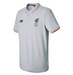 Polo Liverpool FC 2017-2018 (Gris)