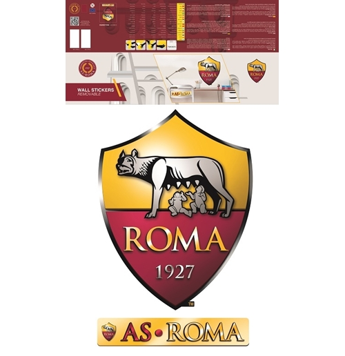 Vinilo decorativo para pared  AS Roma 282717