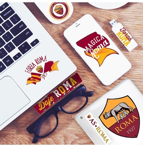 Mini Pegatina Logo AS Roma