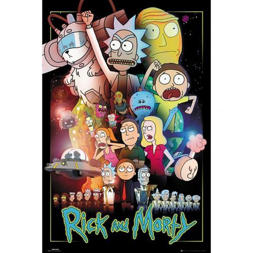 Póster Rick and Morty
