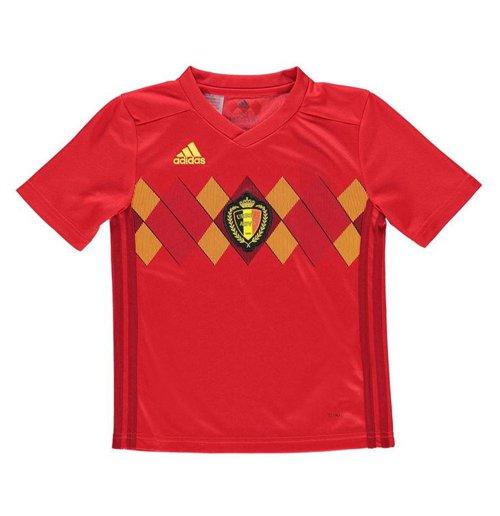 Compra Camiseta 2018 19 Bélgica Fútbol 2018-2019 Home de niño cfd0ad6e8f5ab