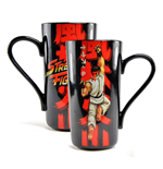 Street Fighter Taza Latte-Macchiato Ryu