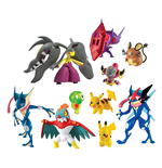 Pokemon Packs de Figuras Surtido Multi-Pack D3 (4)