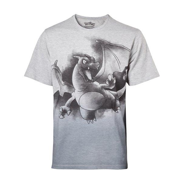 3f6d197e32 Compra Camiseta Pokémon Charizard Oil Washed Original