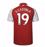 Camiseta 2017/18 Arsenal 2017-2018 Home (S Cazorla 19)