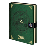 Legend of Zelda Libreta A5 Triforce New Version