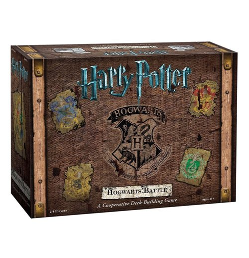 Harry Potter Juego Deck-Building Hogwarts Battle *INGLÉS*