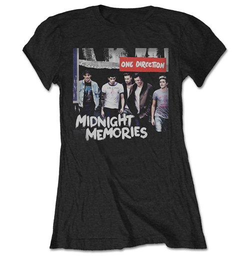 Camiseta One Direction Midnight Memories