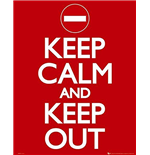 Póster Keep Calm and Carry On 286524