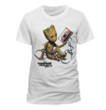 Camiseta Guardians of the Galaxy - Groot & Tape