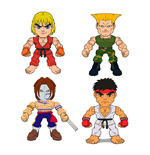 Street Fighter Minifiguras 8 cm Wave 1 Expositor (16)