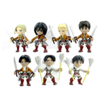 Attack on Titan Minifiguras 8 cm Wave 1 Expositor (12)