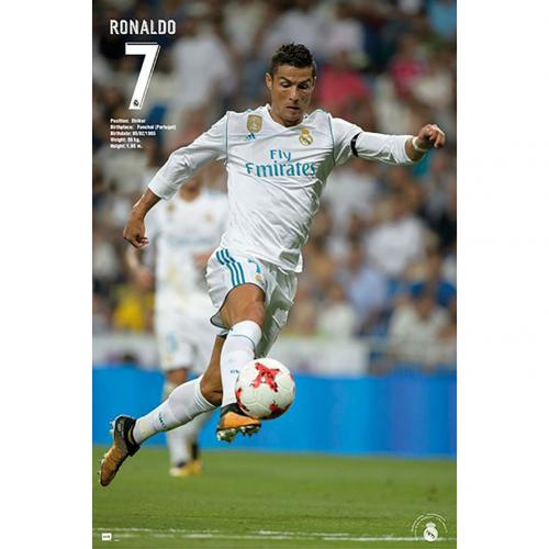 Póster Real Madrid Ronaldo 27