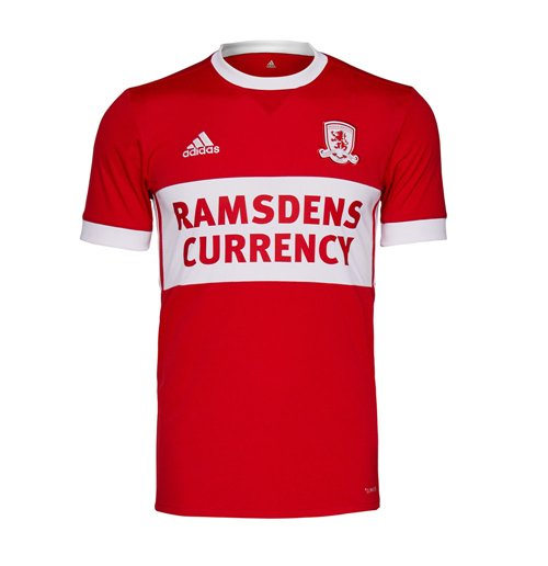 Camiseta 2017/18 Middlesbrough 2017-2018 Home