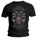 Camiseta Five Finger Death Punch de hombre - Design: Biker Badge
