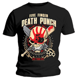 Camiseta Five Finger Death Punch de hombre - Design: Zombie Kill