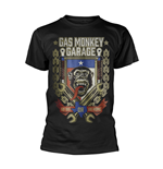 Camiseta Gas Monkey Garage - Go Big Or Go Home