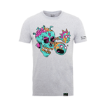 Camiseta Rick And Morty X Absolute Cult EYEBALL SKULL